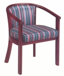 2600 Lounge Chair w/ Upholstered Back & Seat - Grade 1 [2600-GRADE1-ACF]