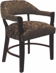 2911 Banker Chair with Upholstered Back & Nailhead Trim Spring Seat - Grade 1 [2911-GRADE1-ACF]