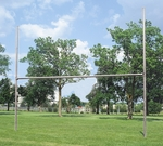 3.5'' Galvanized H-Style Football Goalpost - Set of 2 [FB35-GV-BIS]