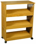3 Stackable Shoe Racks with Top & Casters [4219-FS-VH]