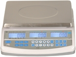 ABS Plastic NTEP Approved Price Computing Scale with Stainless Steel Top - 30 lb Capacity [PC30-SALB]