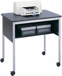 31.5'' W x 23.75'' D x 30.25'' H Multi Purpose Stand - Black and Metallic Gray [1874BL-FS-SAF]