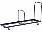 32 Capacity Single Tier Upright Chair Cart - 21''W x 76''D x 38.25''H [HCT6-VCO]