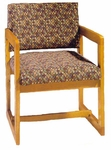 3205 Reception Chair w/ Upholstered Back & Seat - Grade 2 [3205-GRADE2-ACF]