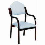 3410 Stacking Chair w/ Upholstered Back & Seat - Grade 1 [3410-GRADE1-ACF]