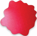 40'' x 40'' Cleartex Sploshmat Floor Protection Mat for Hard Floors - Volcanic Red [FC124040PRV-FS-FTX]
