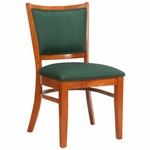 404 Side Chair with Upholstered Back & Seat - Grade 1 [404-GRADE1-ACF]