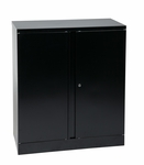 OSP Furniture 42'' High Storage Cabinet with 1 Adjustable Shelf [ST423618-FS-OS]