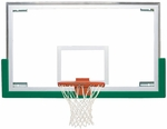 72''W x 42''H Standard Glass Basketball Backboard [BA42E-BIS]