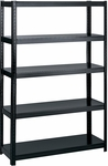48'' W x 18'' D Boltless Extra Strength Shelving - Black [5246BL-FS-SAF]
