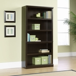 Select Collection 69.75''H Bookcase with Adjustable Shelves - Jamocha [410375-FS-SRTA]