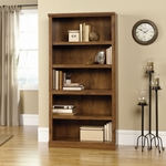 Select Collection 69.75''H Bookcase with Adjustable Shelves - Oiled Oak [410367-FS-SRTA]