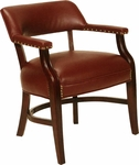 5100 Banker Chair with Nailhead Trim and Upholstered Back & Spring Seat - Grade 2 [5100-GRADE2-ACF]