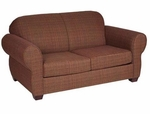 59002 Loveseat w/ Rolled Arms - Grade 2 [59002-GRADE2-ACF]
