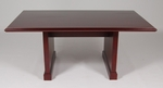 6' Wood Veneer Conference Table in Mahogany Finish [992MH-FS-FDG]