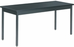 Steel-Frame Science Table with Chemsurf Laminate Top - 60''W x 24''D x 30''H [S246030CS-VCO]
