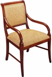 656 Arm Chair w/ Upholstered Back &Web Seat - Grade 1 [656-GRADE1-ACF]
