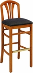 693 Bar Stool w/ Upholstered Back & Seat - Grade 1 [693-GRADE1-ACF]