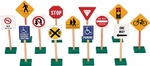 7'' Block Play Traffic Signs [G309-FS-GUI]