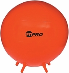 75 cm. FitPro Balls with Stability Legs in Red [BL75-FS-CHS]