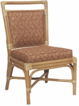 7556 Rattan Side Chair with Reversible Cushion - Grade 2 [7556-GRADE2-ACF]