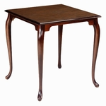 755 Dining Table: Shaped Top with Provincial Legs [755-ACF]