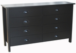 8 Drawer Low Boy Nouvelle Chest [3117-FS-VH]