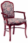801 Arm Chair w/ Upholstered Back and Web Seat - Grade 2 [801-GRADE2-ACF]