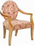8240 Lounge Chair w/ Upholstered Back & Seat - Grade 2 [8240-GRADE2-ACF]