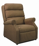 880 Recliner: 2 Position Wall-A-Way with Upholstered Spring Back & Seat - Grade 1 [880-GRADE1-ACF]