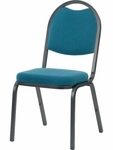 8900 Series Multi-Purpose Stack Chair with Round Back and Crown Seat - 18''W x 22''D x 35.5''H [8915-VCO]