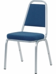 8900 Series Multi-Purpose Stack Chair with Trapezoid Back and Crown Seat - 18''W x 22''D x 34.5''H [8925-VCO]