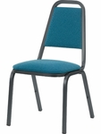 8900 Series Multi-Purpose Stack Chair with Trapezoid Back and Dome Seat - 18''W x 22''D x 34.5''H [8926-VCO]