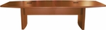 Aberdeen 10' W Boat Shaped Conference Table - Cherry [ACTB10LCR-FS-MAY]