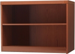 Aberdeen 29.5''H Two Shelf Bookcase - Cherry [AB2S36LCR-FS-MAY]