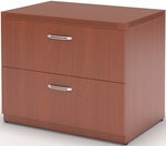 Aberdeen 30'' W x 24'' D x 29.5'' H Freestanding Lateral File - Cherry [AFLF30LCR-FS-MAY]
