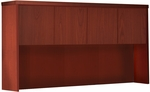 Aberdeen 60'' W Hutch with Wood Doors - Cherry [AHW60LCR-FS-MAY]