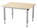 Accella Table with Hand Crank Adjustment [AC-4836L-ADAS]