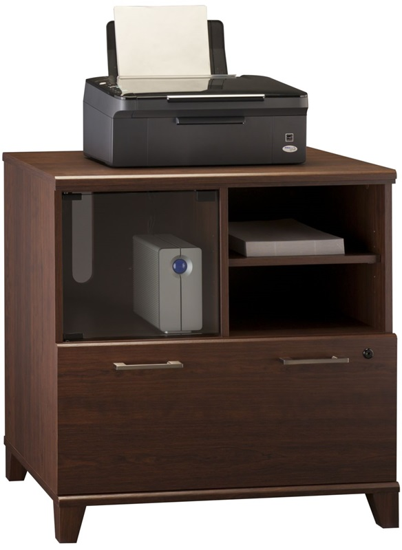 achieve lateral file printer stand with adjustable shelf. Black Bedroom Furniture Sets. Home Design Ideas