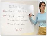 Adhesive Dry Erase Sheets and Rolls