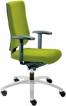 Adjust Medium Back Swivel Chair with Poly Outer Shell [AJ14500-FS-DV]