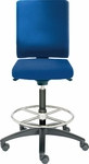 Adjust Tall Height Swivel Stool with Poly Outer Shell [AJ14500T-FS-DV]