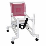 Adjustable Pediatric Walker with Casters - 27''W X 34''D X 35''H [414-3-MJM]