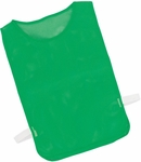 Adult Nylon Mesh Pinnie in Kelly - Set of 12 [MPAGN-FS-CHS]