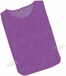 Adult Nylon Mesh Pinnie in Purple - Set of 12 [MPAPR-FS-CHS]