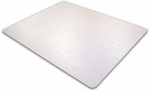 45''L x 53''W Advantagemat Phthalate Free Chair Mat for Low Pile Carpets 1/4'' or less [PF1113425EV-FS-FTX]