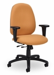 Advent 300 Series High Back Single Shift Adjustable Swivel and Seat Height Task Chair [AD210-M20-FS-SEA]