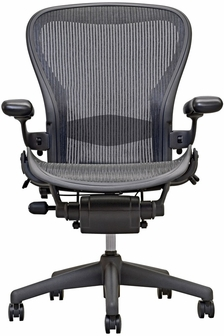 Aeron Chair Open Box Highly Adjustable Task Chair Carbon Her