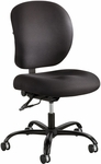 Alday™ 24/7 Big and Tall Task Chair with Plastic Ergo Core Back - Black [3391BL-FS-SAF]
