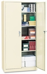 Alera® Assembled 72'' High Storage Cabinet - w/Adjustable Shelves - 36w x 18d - Putty [ALECM7218PY-FS-NAT]